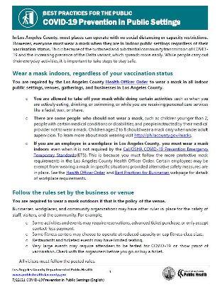 Prevention in Public Settings PDF version