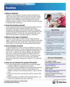 department of public health - acute communicable disease control