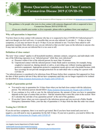 Home isolation guidance PDF