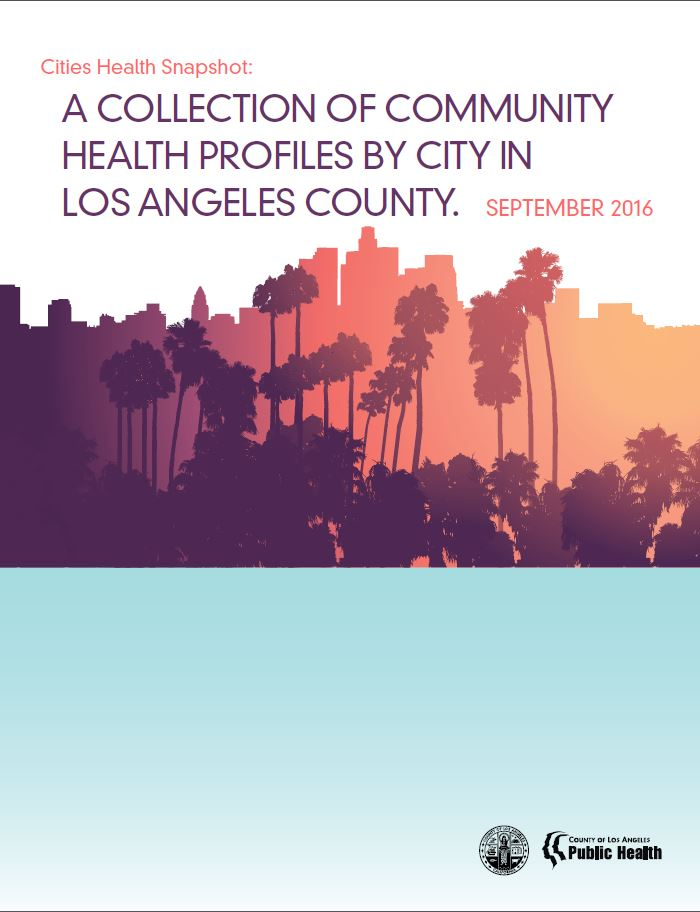 Community health profiles by city in LA