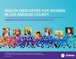 Health Indicators for Women Report Cover